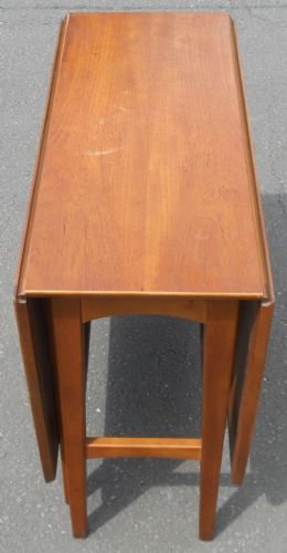 Teak Dropleaf Dining Table